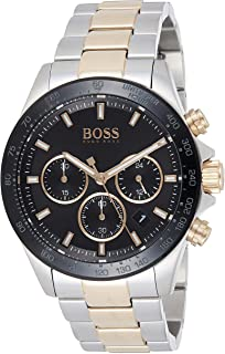 Hugo Boss Mens Quartz Watch, Chronograph Display and Stainless Steel Strap 1513757
