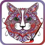 Libro de colorear adulto: Animales Arte
