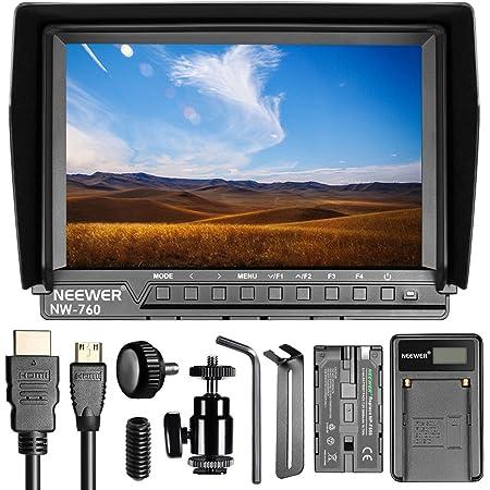 Neewer Nw760 Ultra Hd 7 Zoll 1920x1200 Ips Bildschirm Kamera