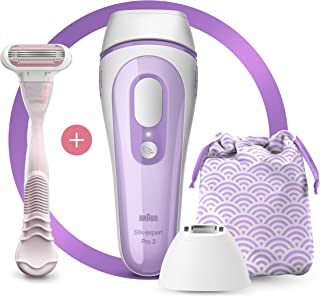 Braun Silk-expert Pro 3 PL3132 IPL with 3 extras: precision head, Venus razor and premium bag