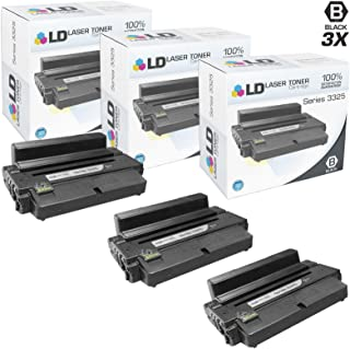 LD Compatible Toner Cartridge Replacement for Xerox WorkCentre 3325 106R2313 High Yield (Black, 3-Pack)