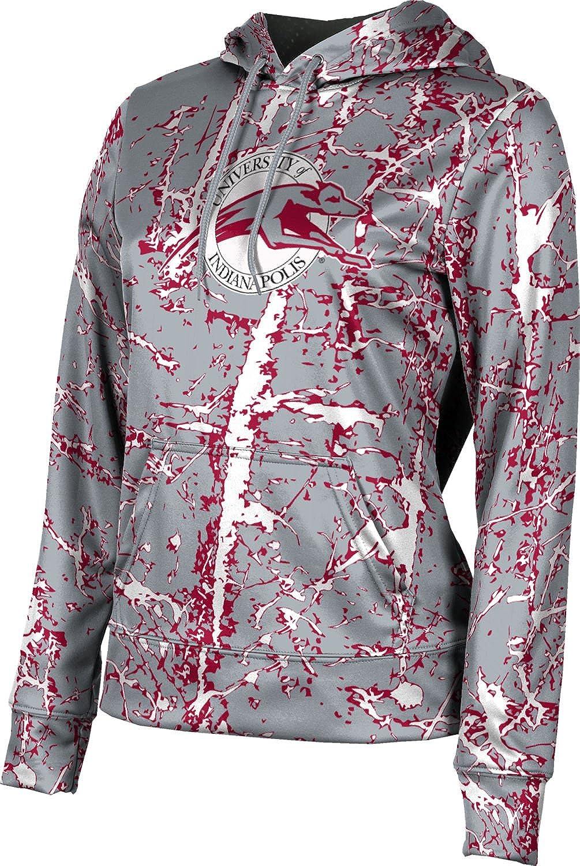 ProSphere University of Indianapolis Girls' Pullover Hoodie, School Spirit Sweatshirt (Distressed)