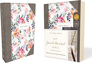 KJV, Journal the Word Bible, Cloth over Board, Pink Floral, Red Letter, Comfort Print: Reflect, Journal, or Create Art Next to Your Favorite Verses Book PDF