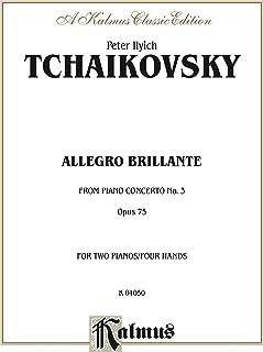 Piano Concerto No. 3, Opus 75, (1st movement, Allegro Brillante): Piano Duo/Duet (2 Pianos, 4 Hands) (Kalmus Edition) (English Edition)