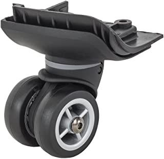 Vaude Replacement Wheels for trolleys (Timok 65/90),Front Left Replacement Part,Black, one Size