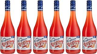 Katlenburger Tropica Sex on the Beach 6 x 0,75 l, trinkfertiger Cocktail 70% Fruchtwein, Erdbeer- Pfirsichgeschmack mit Kohlensäure 7%vol