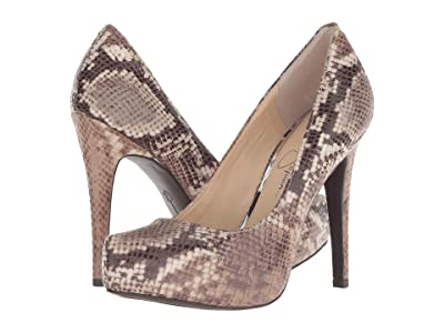 Jessica Simpson Parisah (Totally Taupe Multi Baha Snake Print) High Heels