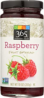 365 Everyday Value, Raspberry Fruit Spread, 10 oz