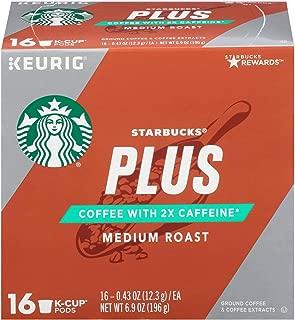Starbucks Keurig K-Cup Plus Medium Roast 16 pods),6.9 oz, pack of 1