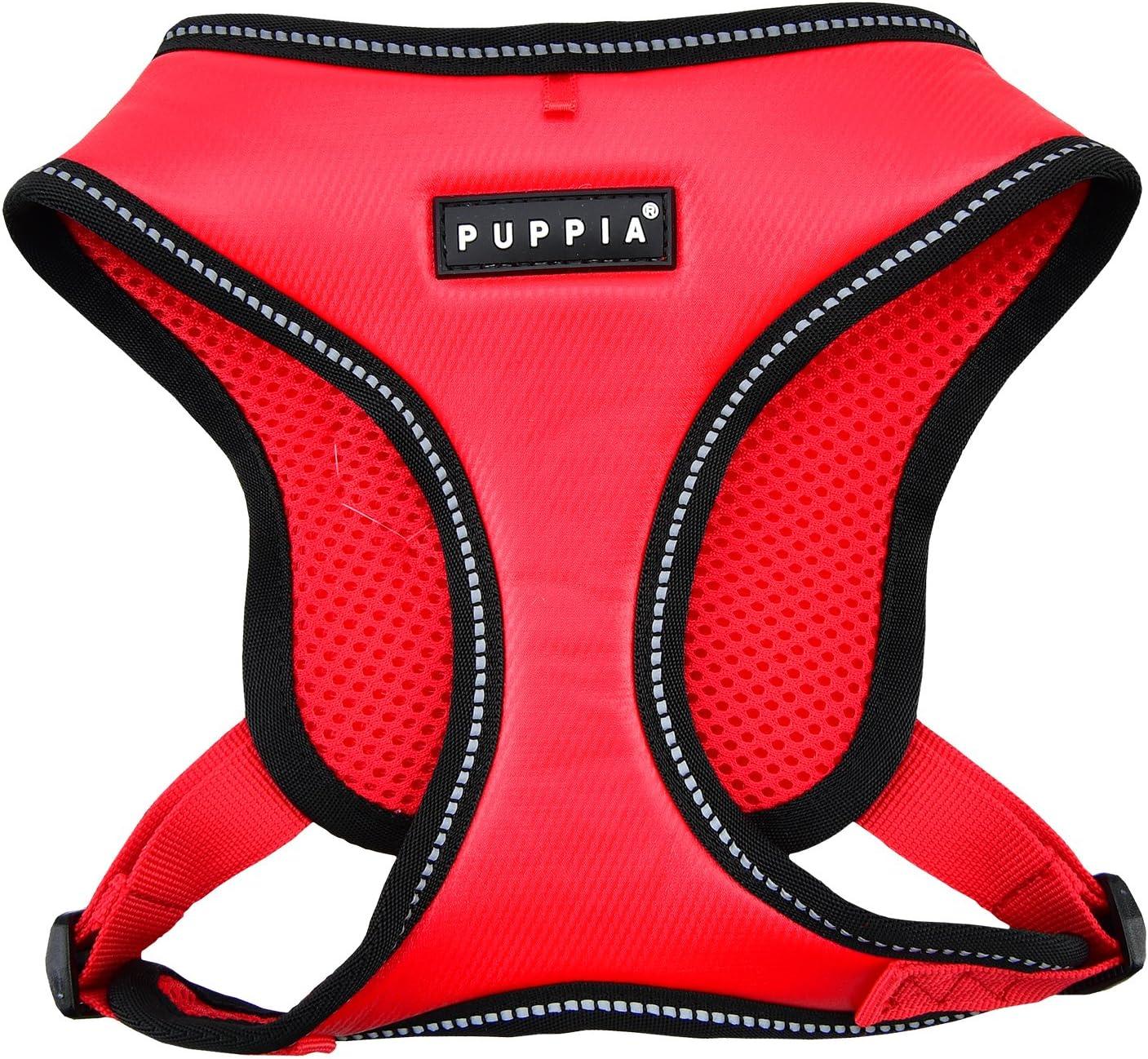 Puppia Legacy Harness E mart Medium Red supreme