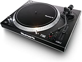 Numark NTX1000 | Professional High-Torque Direct-Drive DJ Turntable with S-Shaped Tonearm, Pitch Fader & Club-Ready Isolation Design