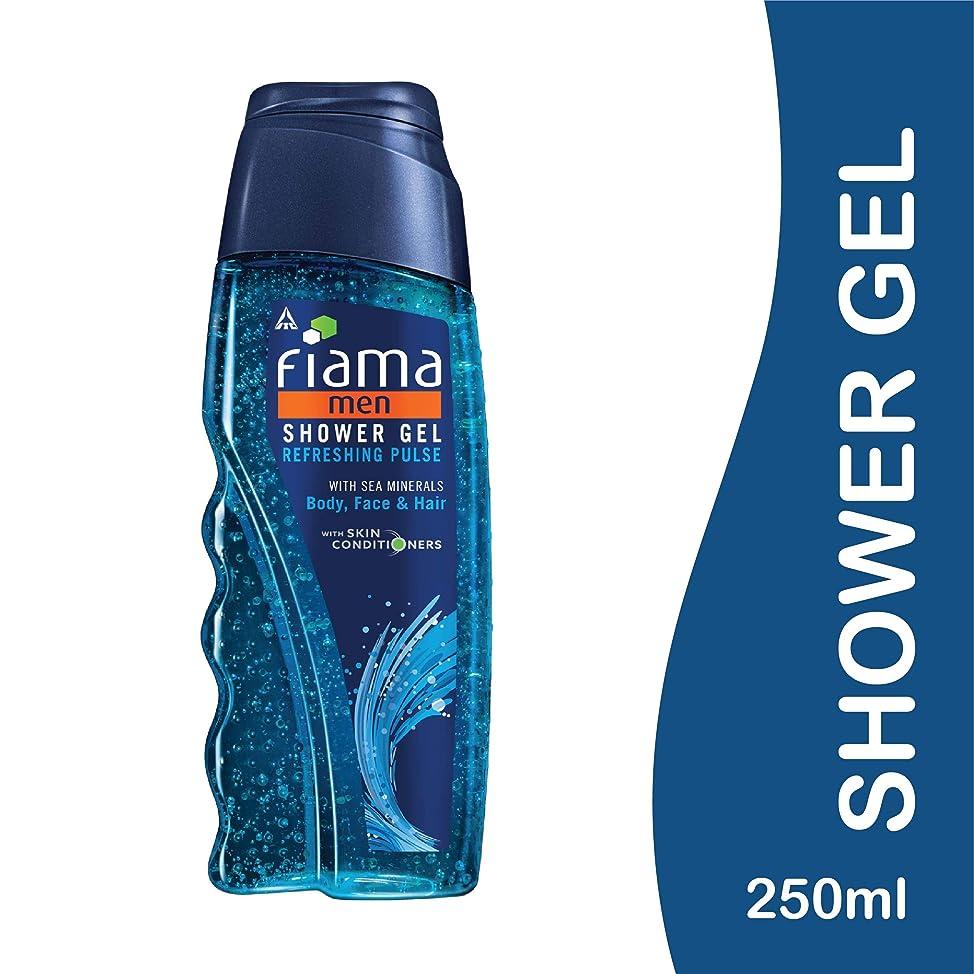 理由再生可能マニアックFiama Men Refreshing Pulse Shower Gel, 250ml