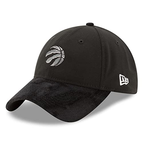 8872887fc11 Men's Toronto Raptors New Era Black 2017 NBA Draft Official On Court  Collection 9TWENTY Adjustable Hat