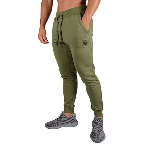 8f313db8d710 YoungLA Joggers Pants for Men Athletic Sweatpants Gym Workout Slim Fit with  Pockets 216