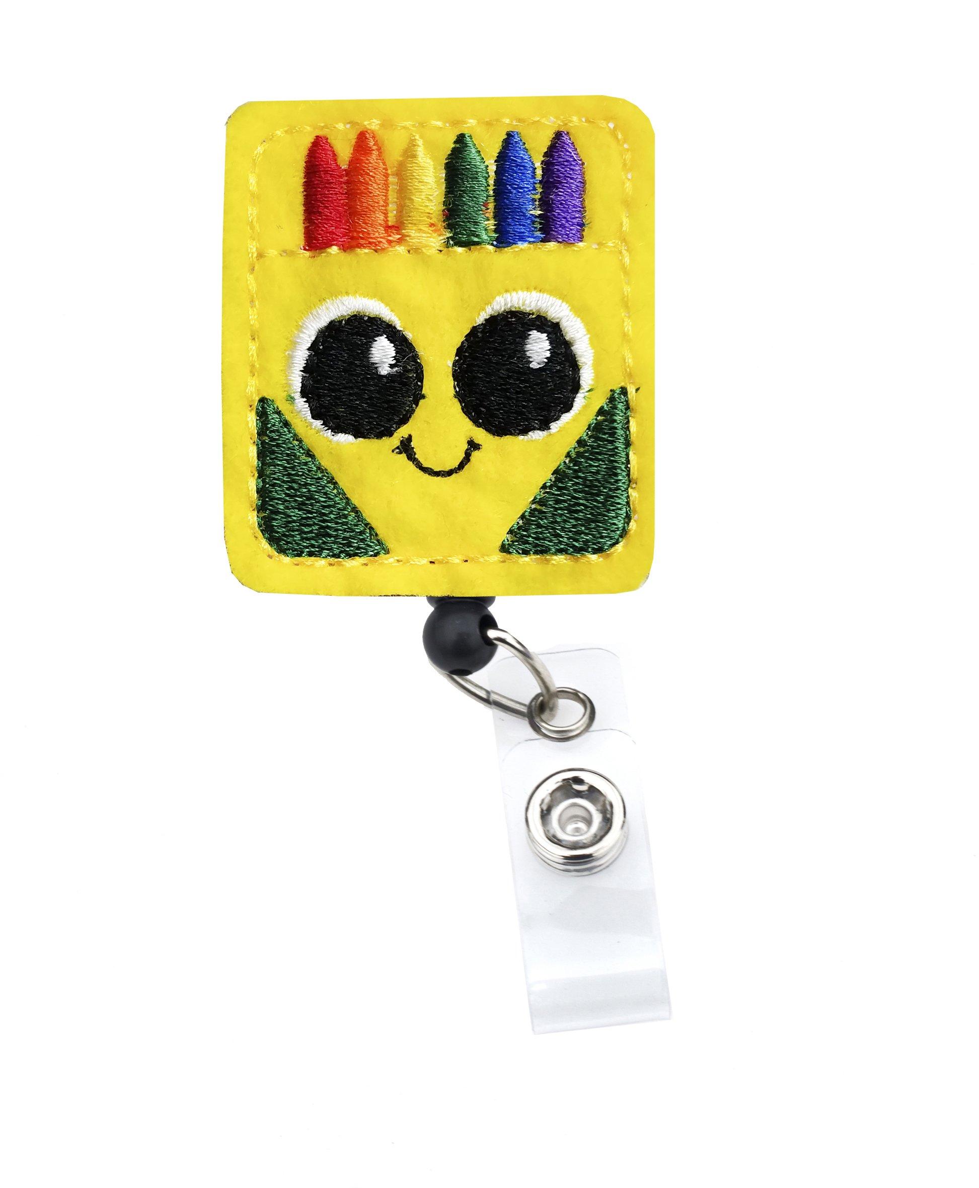 Crayon Badge Reel