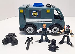 Fisher-Price Imaginext DC Super Friends Exclusive Gotham City GCPD Officer, Bane SWAT Vehicle