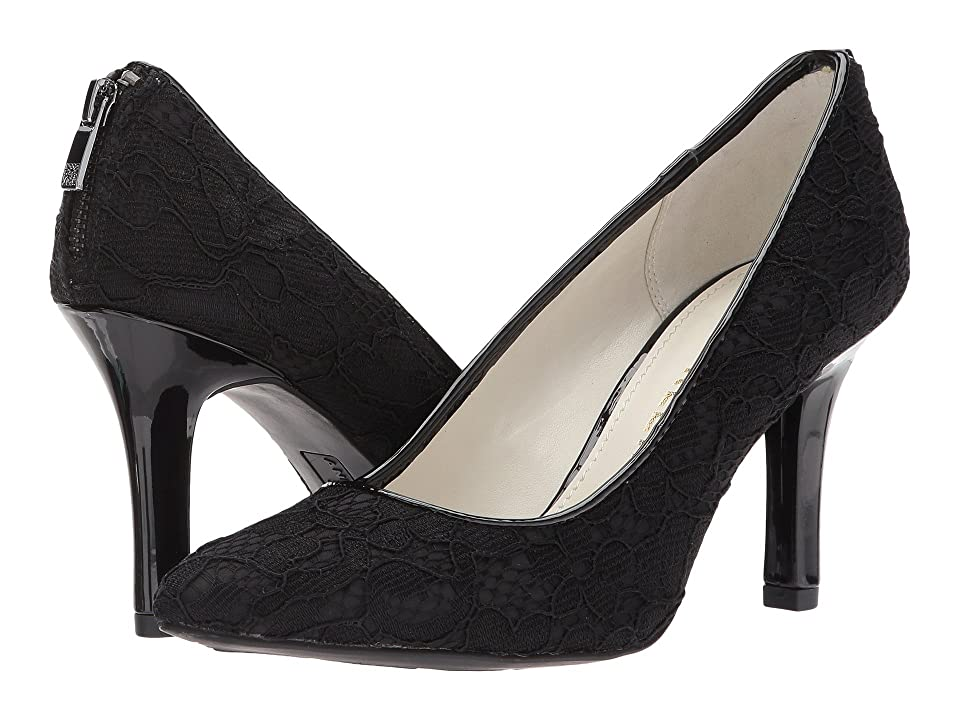 Anne Klein Falicia (Black/Black2 Lace Fabric) High Heels