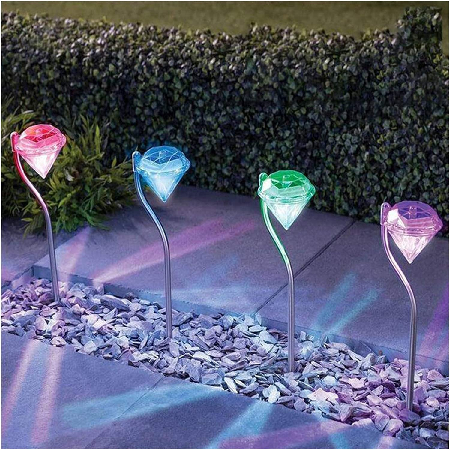 Solar Large special price Light 4pcs Outdoor LED Garden Lig Ranking integrated 1st place