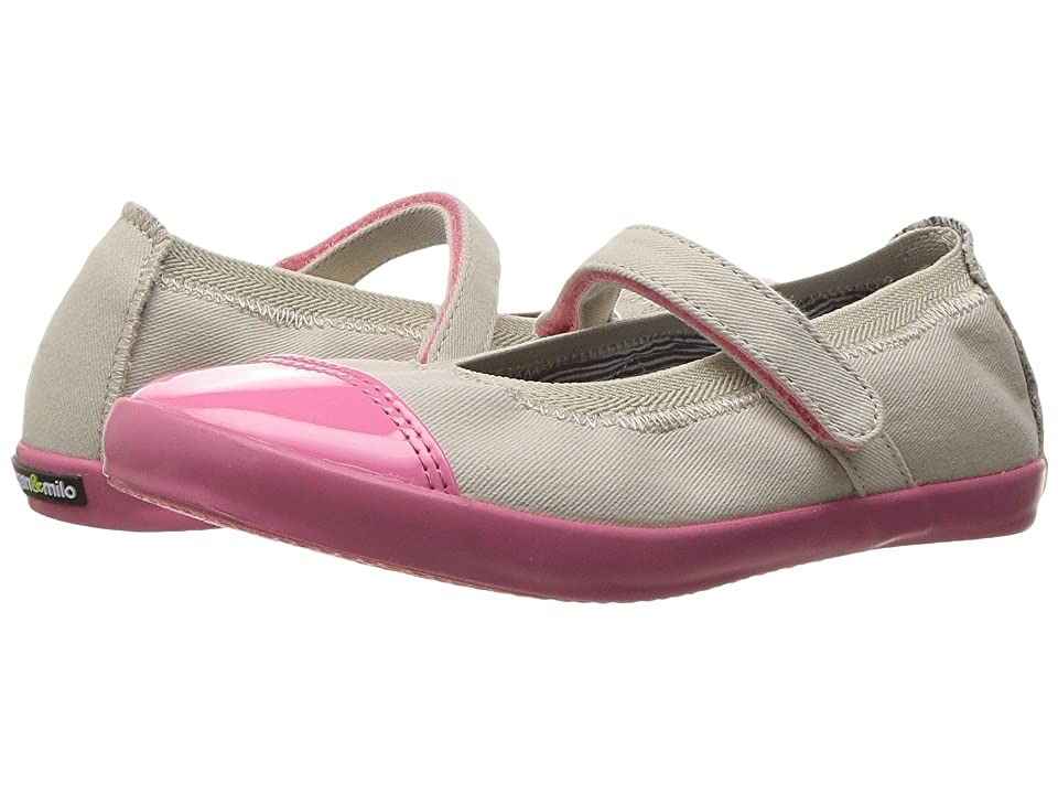 Morgan&Milo Kids Olivia Mary Jane (Toddler/Little Kid) (Heather Grey) Girls Shoes