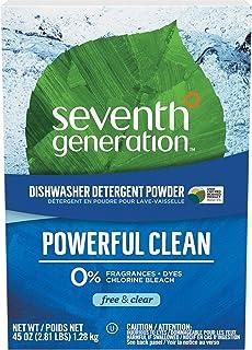 Seventh Generation - Automatic Dishwasher Powder Free & Clear 45 Oz. 72834