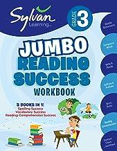 3rd Grade Jumbo Reading Success Workbook: 3 Books in 1–Spelling Success, Vocabulary Success, Reading Comprehension Success; Activities, Exercises & … Ahead (Sylvan Language Arts Jumbo Workbooks) PDF