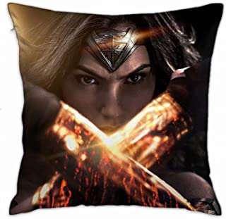 Bigtige FGSDGSDGS Wonder Woman Funda de Almohada Decorativa Funda de Almohada Fundas de cojín para diseño de decoración del hogar 26x26 Pulgadas