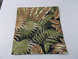 Chair Head Cover Recliner Pad Headrest Furniture Protector Canvas-Palm Tree Black,Upholstery14X30 Sofas Loveseats Theater Seating Chaises