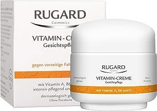 RUGARD Vitamin Creme: Anti Aging Gesichtscreme gegen Falten, mit Vitamin A, B6, E und..