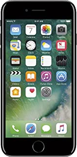 Apple iPhone 7, 128GB, Jet Black - Fully Unlocked (Renewed)