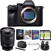 $4696 » Sony Alpha a7R IV Mirrorless Digital Camera Body with 24-105mm f/4 Lens and Software Suite Bundle (8 Items)
