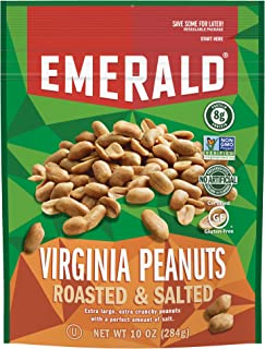 Emerald Nuts, Virginia Peanuts Roasted and Salted, 10 Ounce