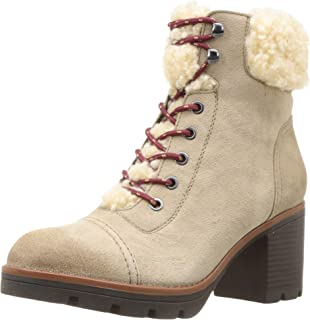 Naturalizer Womens Varuna Leather Lace-Up Ankle Boots