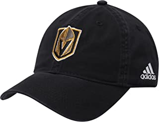 adidas Vegas Golden Knights Basic Primary Logo Adjustable Hat Black