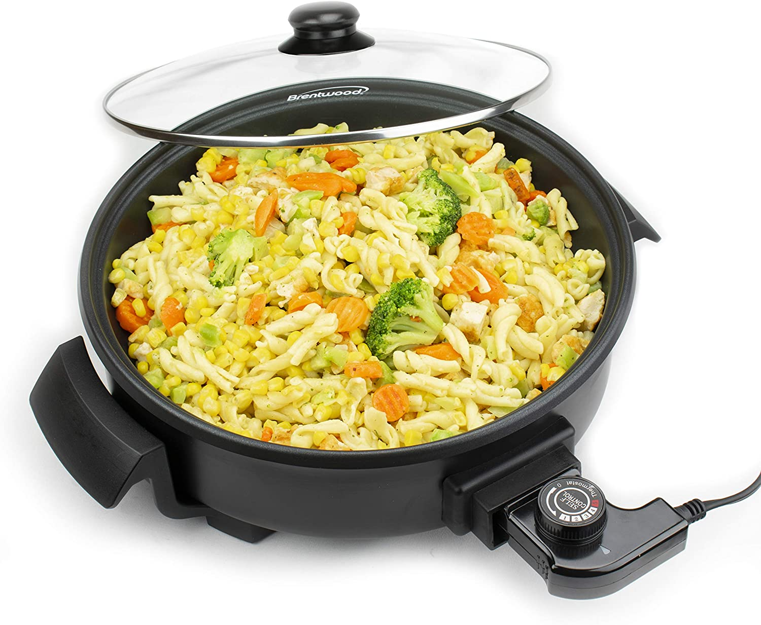 Ranking TOP10 Our shop most popular Brentwood Appliances SK67BK 12-Inch Nonstick Skil Round Electric