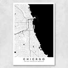 Chicago City Map - 24 x 36 in