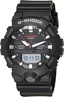 Casio Watch For Men Quartz, Analog-Digital Display and Resin Strap GA-800-1ADR