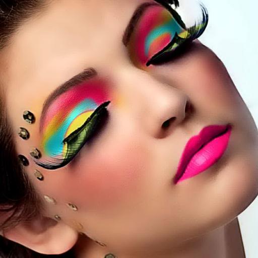 Makeup Spiele: Eye art
