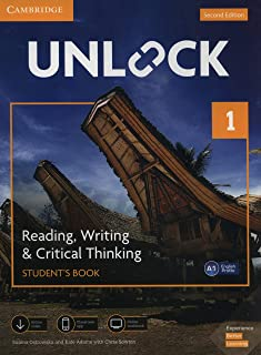Unlock Level 1 Reading, Writing, & Critical Thinking Student's Book, Mob App and Online Workbook w/ Downloadable Video