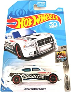 Hot Wheels 2018 50th Anniversary HW Metro Series Dodge Charger Drift (Police Car) 208/365, White