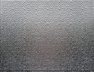hammered metal sheets