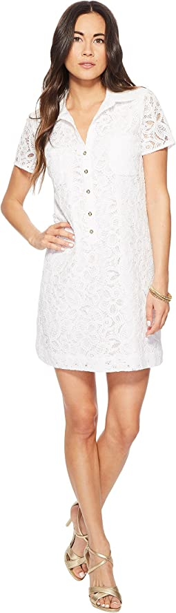 Resort White Pop Floral Lace