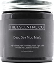 Dead Sea Mud Mask - 8.8 fl. Oz. - Facial Mask for Skin Care, Face Peel and Pore Reducer, Infused with Dead Sea Minerals - The Escential Co.
