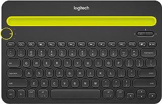 Teclado sem fio Logitech K480 com Suporte Integrado para Smartphone e Tablet, Conexão Bluetooth para até 3 dispositivos e ...