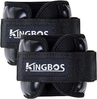 KINGBOS アンクルウェイト リストウェイト 筋トレ 0.5kg / 1kg / 1.5kg / 2kg / 3kg 2個セット パワーアンクル リストバンド