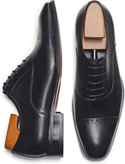 Alipasinm Men's Oxford Formal Comfortable Dress Shoes Genuine Leathers