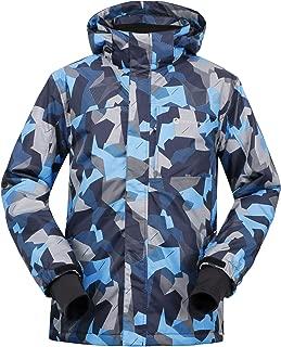 Andorra Men's Performance Insulated Ski Jacket with Zip-Off Hood
