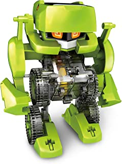 "Elenco Teach Tech ""Meta.4"", Transforming Robot, STEM Solar Toys for Kids 8+"