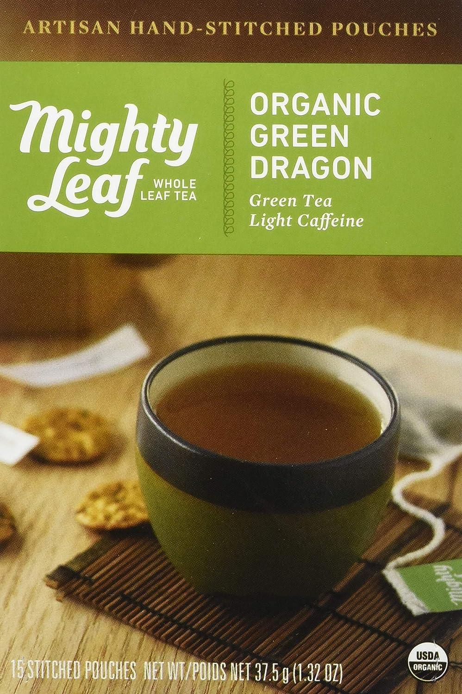 Mighty Leaf Tea Organic Green Dragon Hand-Stitched Max 48% OFF Bags San Diego Mall 15