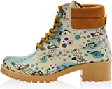 Goby Music Notes Short Boots KAT106