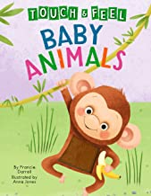 Baby Animals: A Touch and Feel Book - Children's Board Book - Educational